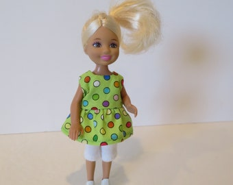 CHELSEA/KELLY Green With Polka Dot Print  Outfit