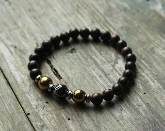 Mala bracelet, mala beads, bracelet homme, bracelet femme, gemstone bracelet, beaded bracelet, wrist mala, meditation bracelet, yoga gift