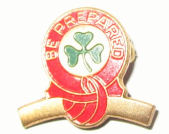Vintage Girl Scout Curved Bar Pin-Intermediate Girl Scout Award