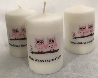 Baby shower favors, Grey Elephant Baby Shower favors, Custom candles , Custom Shower Favors, Bridal Shower Favors, Personalized Favors