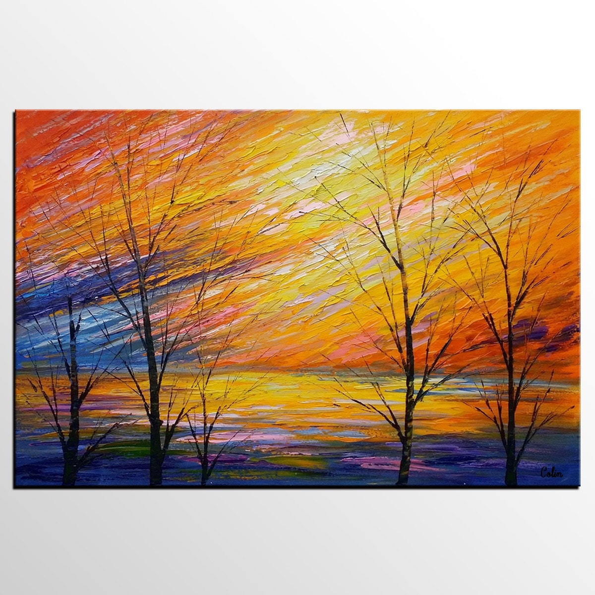 Canvas Oil Painting Abstract Painting Original Art Abstract