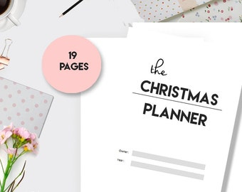 Christmas Planner, Holiday Planner, A5 Planner Inserts, Personal Planner Insert,  Printable Planner, Printable Christmas, Filofax