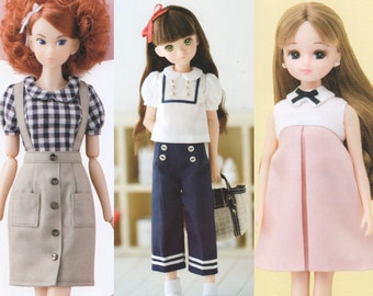 Doll clothes lesson book