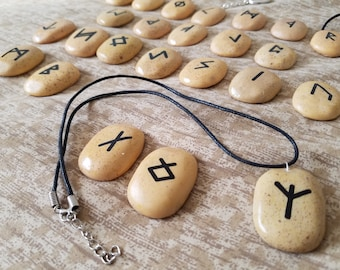 Rune Stone Jewelry - Necklaces, Keychains, Chokers and more!