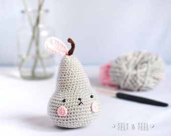 PEAR crochet Pirum Parum