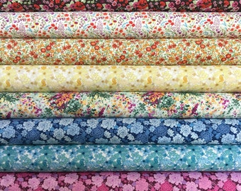In The Beginning Garden Delights Fat Quarter Set - 10 Fat Quarters