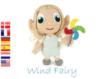 Crochet pattern Wind Fairy