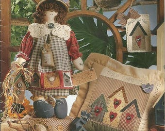 Mccalls 6527 Sewing Pattern Pillow Wall Hanging Bag And