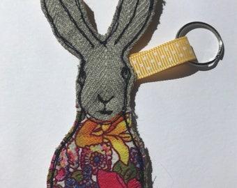 Hare keyring