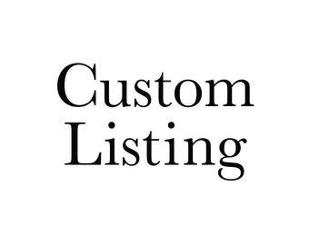 Custom Fee - Add On