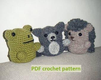 Forest Dwellers vol.2 - crochet pattern PDF
