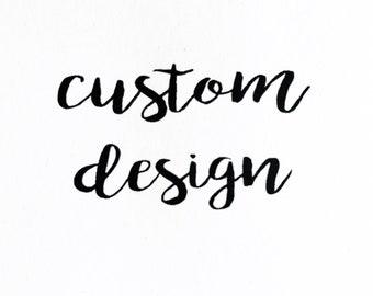 Custom Tea Towel Design