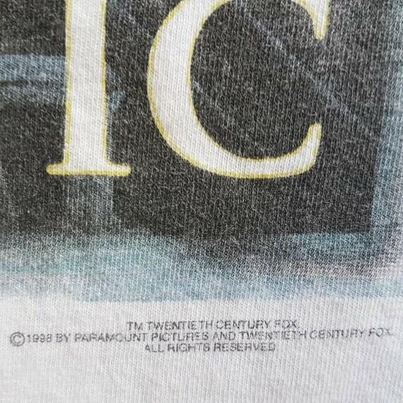 L T 1998 Titanic L Vintage size 28 Movie 22 W x 5 Shirt taPZq