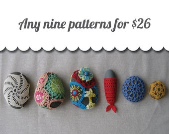 Discount Pattern Package: Choose Any 9