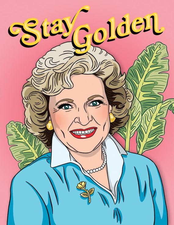 Betty white birthday card birthday golden girls pop like this item bookmarktalkfo Images