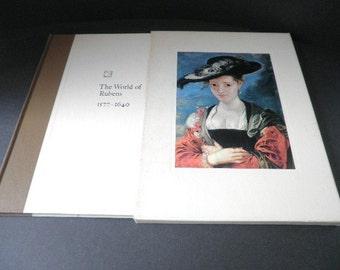 The World of Rubens Art Book 1st Printing