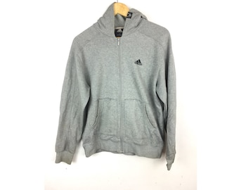 ADIDAS Basketball Medium Size Hoodies fully zipper with Small embroidered Logo