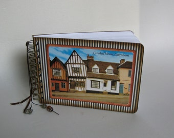 England post card journal