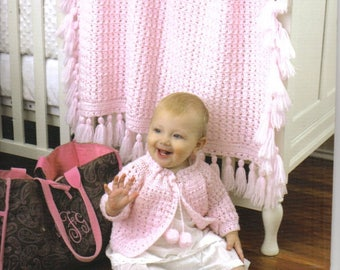Classics For Baby  ~  Crochet Book ~  Leisure Arts ~  Baby items' patterns