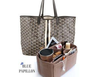 Goyard Bag Purse Organizer, Bag Purse insert for Goyard, Goyard St Louis Organizer, Goyard Bags, Goyard Handbag organizer, Felt organizers