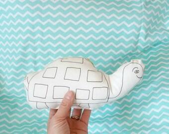 MiniCoccola Tartaruga - cuscino da colorare