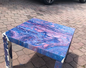Unicorn Drips side table
