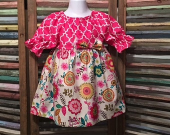 Girl dress, Girls Easter dress, Girls peasant dress, Girls spring or summer dress,  #183, #301, 318, 319