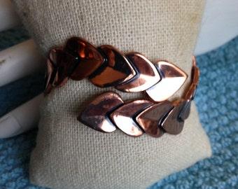 Vintage Renoir Leaf Bracelet