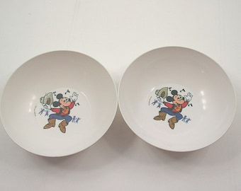 Mickey Mouse Bowls - Set of 2