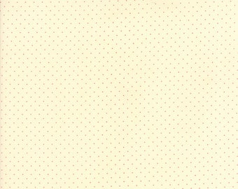 Provencal by American Jane - Pin Dot - Ivory/Red - Moda 21098 130