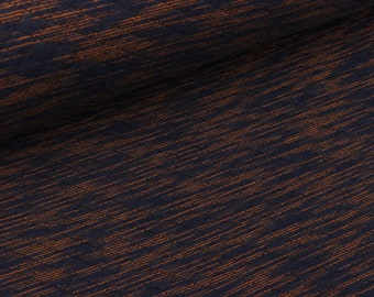 Light Steppsweat striped Ochre-dark blue melange (11.60 EUR/meter)
