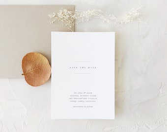 Chloe Wedding Save the Date - Sample