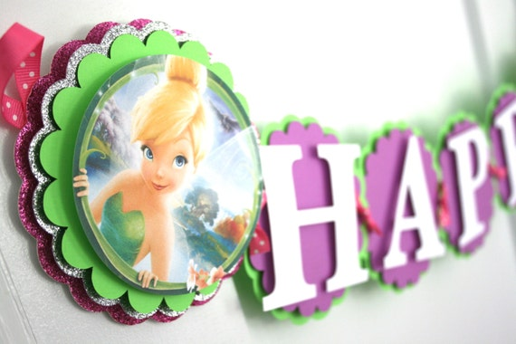 Tinker Bell Birthday Decorations Tink Birthday Banner