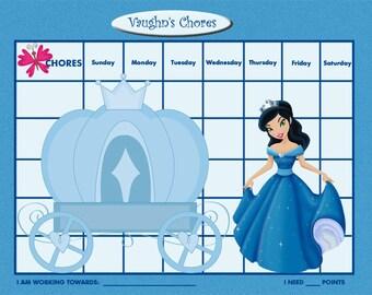 simple fairy reward chart pdf