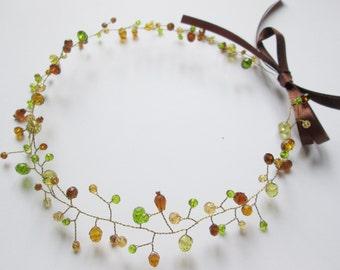 Bridal hair vines Wedding vine hair Crystal vine hair Boho vine hair Headband crystal Vine hair headband Bridal vine headband Boho
