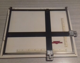 Vintage Sizing Tool for Picture Mounting Malham Photographic Equipment Board