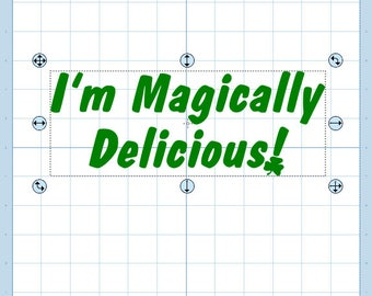 I'm magically delicious! SVG