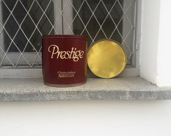 Large Vintage 'Prestige' Flower Tin