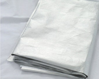 Tyvek Fabric Dupont Tyvek by the yard Sewing Supplies  Wide width - Sliver Color CH-19707