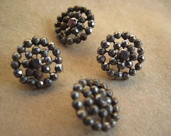 Victorian Cut Steel Buttons
