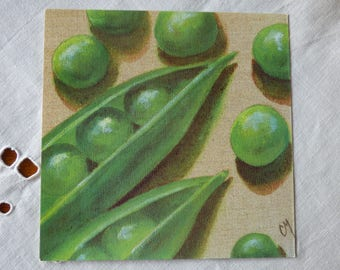 Card pea for cartonnage or framing