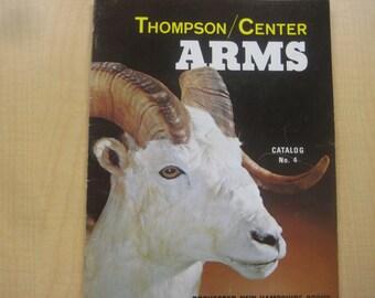 Thompson Center Arms, Rifle, Shotgun, Pistol Catalog No. 4, 1977