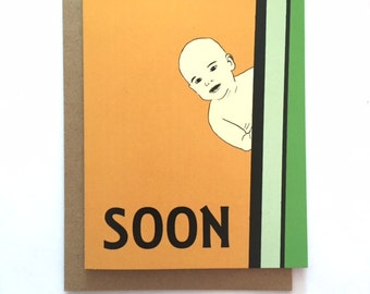 SOON - Baby Card