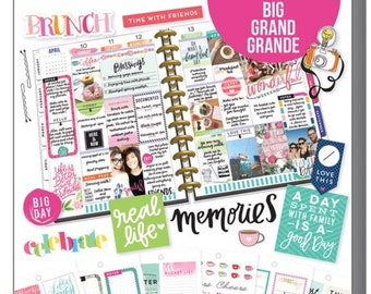 The Big Happy Planner Value Sticker Pack - Memory Keeping