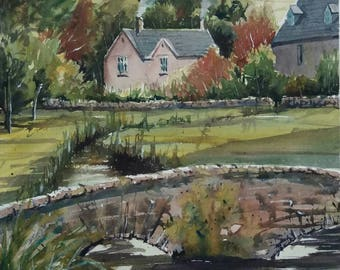 Lower Slaughter; English village