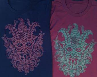 Devil screenprinted t-shirt
