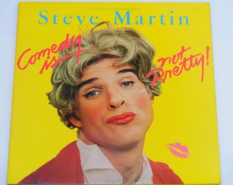"Steve Martin - Comedy Is Not Pretty - ""Cruel Shoes"" - Warner Brothers Records 1979 - Vintage Gatefold Vinyl LP Record Album"