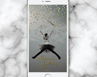 Sparkle Geofilter, Gold Snap Chat, Stars Snapchat Geofilter, 30th Birthday for her, Kids Party Geofilter, Snapchat Geofilter Baby shower