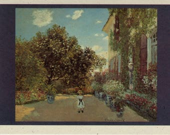 THE ARTIST'S HOUSE by Claude Monet -  Notecards - Boxed Set of 12 with Matching Envelopes