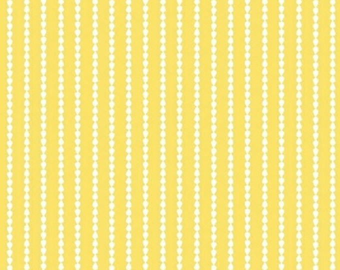 Oh Clementine - Stripes in Yellow - Stripe Cotton Quilt Fabric - by Allison Harris of Cluck Cluck Sew for Windham Fabrics - 39287-5 (W2114)